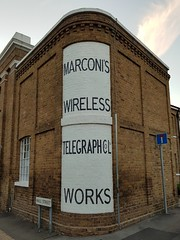 Chelmsford Marconi Wireless Telegraph Company Hall Street Works (Stuart Axe) Tags: marconi chelmsford essex uk england hallstreet gb sign greatbritain marconiwirelesstelegraphcompany cityofchelmsford countytown unitedkingdom city countyofessex