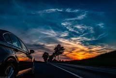 Reflection (carsten.plagge) Tags: 2019 a6300 cp55 carstenplagge himmel sonnenuntergang wolken blauestunde