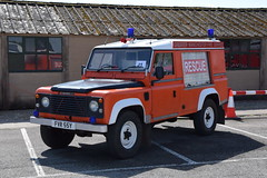 Greater Manchester - FVR55Y (matthewleggott) Tags: fire engines engine appliance eden camp north yorkshire fspg service preservation group greater manchester fvr55y land rover defender gmc
