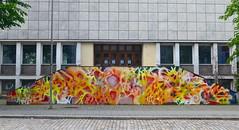 HUR, Sentralbadet (June 2019) (svennevenn) Tags: hur eirikfalckner graffiti bergengraffiti graffitibergen gatekunst streetart