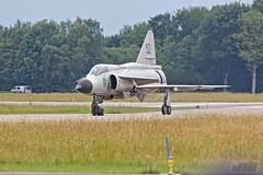 SAAB Viggen (ty154m) Tags: f16 eurofighter spitfire chinook saab typhoon viggen koninklijke volkel luchtmacht kdc10 klu straaljager luchtmachtdagen2019 luchtmachtdagen