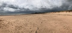 Rain On the Way on the Warren (SKAC32) Tags: devon swengland dawlishwarren beach stormclouds sand panorama iphone7s