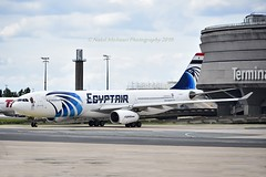 """Egyptair SU-GDT Airbus A330-343E cn/1230 Sticker """"African cup of nations 2019"""" @ LFPG / CDG 15-06-2019 (Nabil Molinari Photography) Tags: egyptair sugdt airbus a330343e cn1230 sticker africancupofnations2019 lfpg cdg 15062019"""