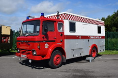 Tayside - FSP924W (matthewleggott) Tags: fire engines engine appliance eden camp north yorkshire fspg service preservation group tayside fsp924w dodge hcb angus cu command unit