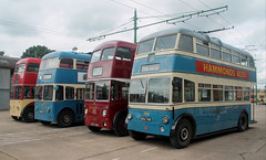 Trolleybus: Bradford City Transport: 746 EKU746 BUT 9611T/Roe Sandtoft Trolleybus Museum (emdjt42) Tags: