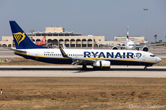 Ryanair Boeing 737-8AS 'EI-DWM' LMML - 14.06.2019 (Chris_Camille) Tags: spottinglog registration planespotting spotting maltairport airplane aircraft plane sky fly takeoff airport lmml mla aviationgeek avgeek aviation canon5d canon livery myphoto myphotography ryanair boeing 737 b738