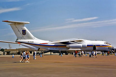 UR-76415   Ilyushin IL-76 [0083481440] (Ukraine Air Force) RAF Fairford~G 19/07/1997 (raybarber2) Tags: 0083481440 abpic airliner airportdata cn0083481440 cancelled egva filed flickr planebase print raybarber ukrainecivil ur76415 writtenoff