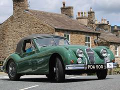 beamish-2019-IMG_4139 1955 Jaguar XK140 (Colin Bainbridge) Tags: beamishrun2019 beamish classiccar wensleydale bainbridge northyorkshire