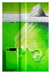 The tip of the plastic iceberg (leo.roos) Tags: straatkunst streetart muurschildering wallart mural muralism kijkduin winkelcentrum shoppingmall shoppingcentre sloop demolition graffiti thsa thehaguestreetart kunst lens a7 helios44582 kmz 1958 m39 russianlenses sovietglass darosa leoroos graphitti grafitti graphiti streetartcity winkelpromenadekijkduin