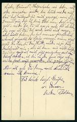 Archiv T204  Grüße von beiden Töchtern (back), 1920er (Hans-Michael Tappen) Tags: archivhansmichaeltappen karte text handschrift gruskarte 1920s 1920er