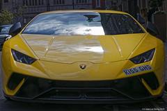 Facing a beast (Sh1nji) Tags: london uk supercar car lamborghini huracan yellow street canon 80d sh1nji 5h1nji 2019