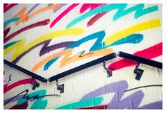 Handrail (leo.roos) Tags: straatkunst streetart muurschildering wallart mural muralism kijkduin winkelcentrum shoppingmall shoppingcentre sloop demolition graffiti thsa thehaguestreetart crea colo abstra a7 helios44582 kmz 1958 m39 russianlenses sovietglass darosa leoroos graphitti grafitti graphiti streetartcity winkelpromenadekijkduin