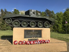 IMG_4596 (G Gibson) Tags: desert rats association tank 70 anniversary normandy 7th armoured division