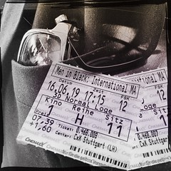 Men (and Women) in Black (bornschein) Tags: blackandwhite maninblack film cinema kino composing