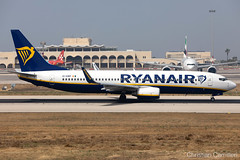 Ryanair Boeing 737-8AS 'EI-DWP' LMML - 14.06.2019 (Chris_Camille) Tags: spottinglog registration planespotting spotting maltairport airplane aircraft plane sky fly takeoff airport lmml mla aviationgeek avgeek aviation canon5d canon livery myphoto myphotography ryanair boeing 737 b738