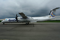 C-GFNK (QAZAQ Air) (Steelhead 2010) Tags: qazaqair bombardier dhc8 dhc8q400 yhm creg cgfnk