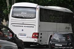 Man Lion's Coach - Iran, Tehran (Helvetics_VS) Tags: licenseplate iran tehran