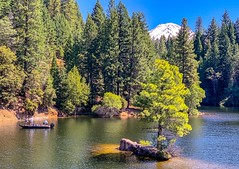 View from the Siskiyou Lake Trail in Northern California. (lhboudreau) Tags: