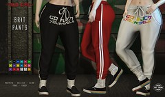 [RED GIRL] Brit Pants ([RED GIRL]) Tags: suicidedollz slinkphysique slinkhourglass maitreya belleza tonic ebody swag girls streatwear secondlife events newrelease