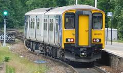 150272 - Halifax, West Yorkshire (The Walsall Spotter) Tags: sprinter class1502 150272 halifax railway station west yorkshire northern rail dmu uk multiple units british railways networkrail
