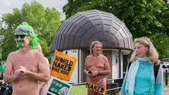 It's that look (sasastro) Tags: cambridgewnbr2019 cyclistsafety oildependency protest roadsafety wnbr