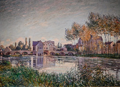 Alfred Sisley - Moret at Sunset, 1888 at Cincinnati Art Museum - Cincinnati OH (mbell1975) Tags: cincinnati ohio unitedstatesofamerica alfred sisley moret sunset 1888 art museum oh museo musée musee muzeum museu musum müze museet finearts fine arts gallery gallerie beauxarts beaux galleria painting french impression impressionist impressionism