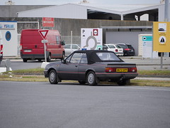 1987 Vauxhall Cavalier Convertible 1.8L D672 SPP (SignumGB) Tags: 1987 vauxhall cavalier convertible 18l d672 spp roscoff harbour brittany france
