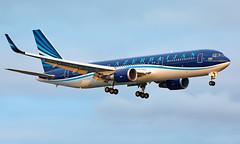 4K-AZ82 - Boeing 767-32L(ER) - LHR (Seán Noel O'Connell) Tags: azerbaijanairlines azal 4kaz82 boeing 76732ler b767 b763 767 heathrowairport heathrow lhr egll gyd ubbb 27l j27 ahy7 aviation avgeek aviationphotography planespotting