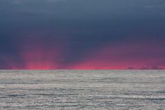 IMG_5548-1 (Andre56154) Tags: albanien albania meer ozean ocean himmel sky wolke cloud wasser water sonnenuntergang sunset abendrot afterglow