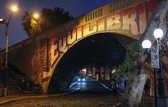 Puente Equilibrio (Diego_Valdivia) Tags: bajada baños barranco lima perú mural arte urbano urban art puente bridge equilibrio equilibrium canon eos 60d