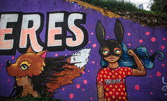 Eres (Diego_Valdivia) Tags: mural arte urbano urban art bajada baños barranco lima peru canon eos 60d