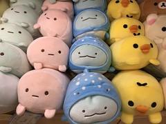 Plushies at the Osaka airport (C-Monster) Tags: plushies osakaairport japan