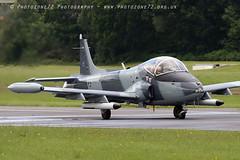 0670 Strikemaster Mark (photozone72) Tags: strikemaster strikedisplay classicjet wingswheels dunsfold dunsfoldpark aviation aircraft airshows airshow canon canon7dmk2 canon100400f4556lii 7dmk2