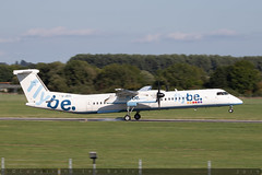 G-JECL - Bombardier DHC-8-402 [4114] - Flybe - EGHI / Southampton Airport - 8 August 2018 (Leezpics) Tags: gjecl flybe dhc8 bombardier aviation aircraftspotting eghi dash8 airliners southamptonairport planespotting commercialaircraft 21august2018 sou