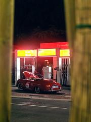 Porsche by Night (Mattia Manzini Photography) Tags: porsche 356 speedster supercar supercars cars car carspotting classic automotive automobili auto automobile italy italia bologna night exotics millemiglia nikon d750
