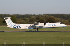 G-ECOJ - Bombardier DHC-8-402 [4229] - Flybe - EGHI / Southampton Airport - 8 August 2018 (Leezpics) Tags: dhc8 flybe airliners bombardier aviation aircraftspotting eghi dash8 southamptonairport commercialaircraft planespotting sou 21august2018 gecoj