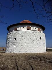 Round tower Denmark (vanessapleym) Tags: round white tower denmark