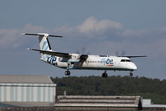 G-ECOF - Bombardier DHC-8-402 [4216] - Flybe - EGHI / Southampton Airport - 8 August 2018 (Leezpics) Tags: dhc8 flybe dash8 bombardier aviation aircraftspotting eghi gecof airliners southamptonairport planespotting commercialaircraft 21august2018 sou