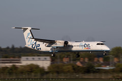 G-ECOJ - Bombardier DHC-8-402 [4229] - Flybe - EGHI / Southampton Airport - 8 August 2018 (Leezpics) Tags: dhc8 bombardier flybe airliners aviation aircraftspotting eghi dash8 southamptonairport commercialaircraft planespotting sou 21august2018 gecoj