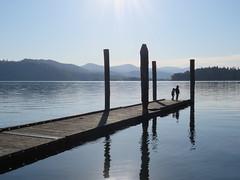 Dock at Hawley's Landing (bencbright) Tags: dock lake idaho benewah state park early morning coeurdalene