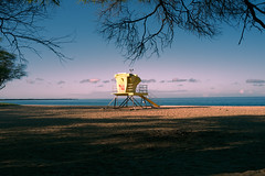 Sunrise at Makena Beach (erniewelch1323) Tags: ifttt 500px makena beach horizon over water shore coast sand seacoast shoreline coastline ocean seashore maui wailea sunrise early lifeguard pink big