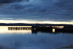 D3X_8730 (dolphinpix) Tags: cromarty oil rig oilrig night scotland sea still platform peace peaceful dark late evening water ocean harbour boat ship britain greatbritain filter long peter peterasprey dolphinpix magic twilight blackisle black grey blue