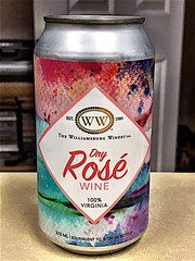 The Williamsburg Winery Dry Rosé Wine 🍷  375 ml can. (_BuBBy_) Tags: the williamsburg winery dry rosé wine 🍷 375 ml can