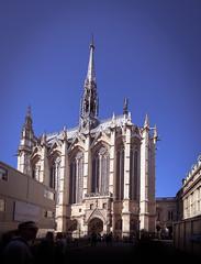 Sainte-Chapelle, Paris France (Phil Songa) Tags: april april2019 france paris holiday summer sunshine travel saintechapelle