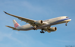 China Airlines / Airbus A350-941 / B-18902 / YVR (tremblayfrederick98) Tags: aviation airbus a350 avgeek 350 chinaairlines yvr landing planes planesspotting airplane