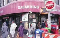 (David Chee) Tags: canon new sure shot af35m ii autoboy 2 kodak ultramax 400 newyork nyc queens jackson heights kabab king street film analog