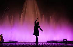 Danza de siluetas I (Diego_Valdivia) Tags: danza silueta silhouete dance color backlit contraluz beauty parque reserva park lima peru canon eos 60d