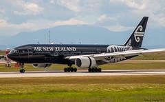 Air New Zealand / Boeing 777-219(ER) / ZK-OKH / YVR (tremblayfrederick98) Tags: airnewzealand boeing boeing777 b777 777 yvr vancouver staralliance