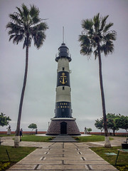 Faro La Marina (Diego_Valdivia) Tags: faro lamarina lighthouse parque antonioraimondi park malecón cisneros miraflores lima peru iphone5s