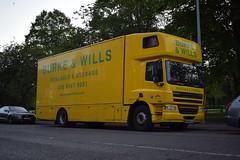 Burke & Wills DAF CF65 Removal Lorry MX09 LLM (5asideHero) Tags: burke wills daf cf65 removal lorry mx09llm